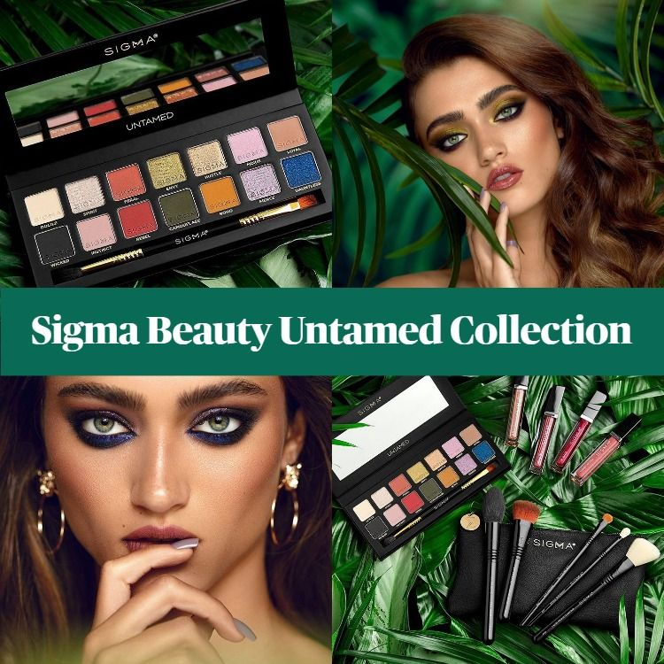 New! Sigma Beauty Untamed Collection