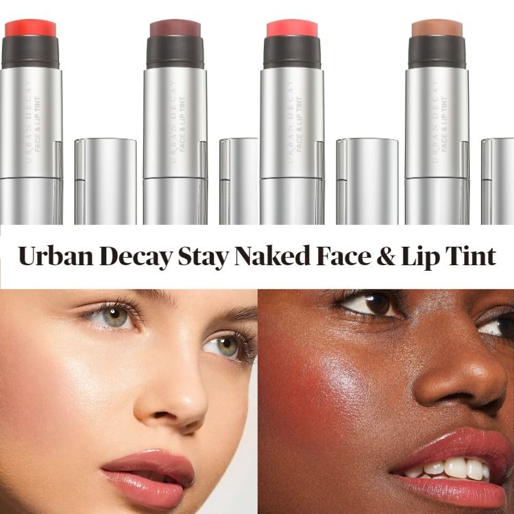 New! Urban Decay Stay Naked Face & Lip Tint
