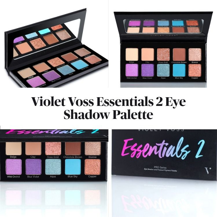 New! Violet Voss Essentials 2 Eye Shadow Palette