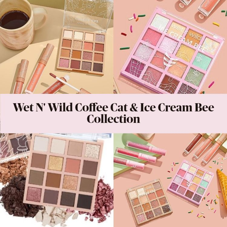 Get The Scoop On The New Wet N Wild Coffee Cat & Ice Cream Bee Collection