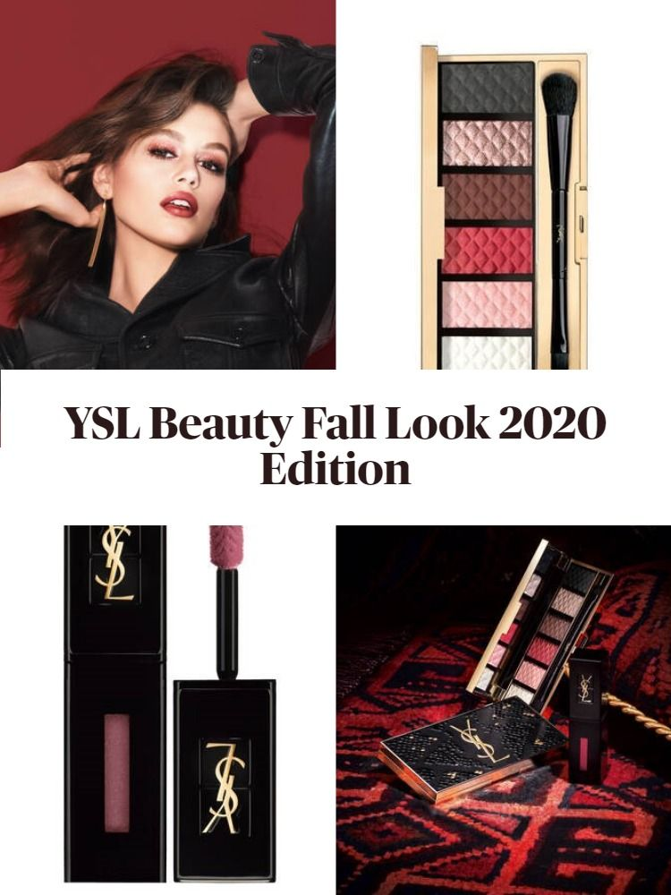 New! YSL Beauty Fall Look 2020 Edition