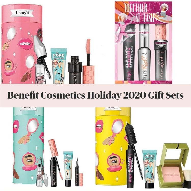 Get The Scoop On The New Benefit Cosmetics Holiday 2020 Gift Sets