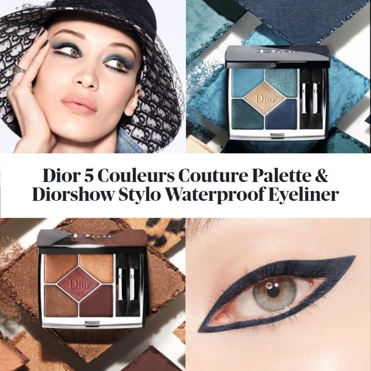 New! Dior 5 Couleurs Couture Eyeshadow Palette & Diorshow Stylo Waterproof Eyeliner