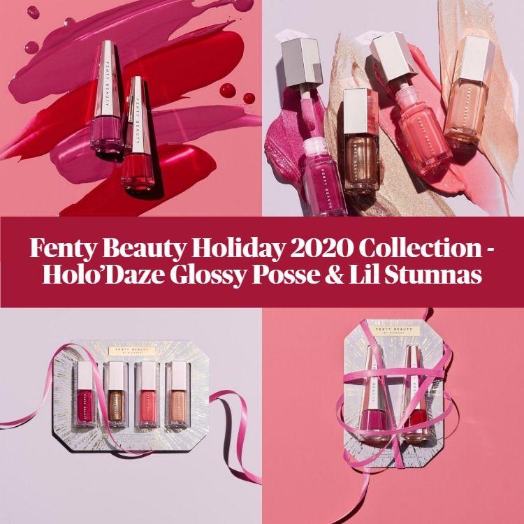 Sneak Peek! Fenty Beauty Holo'Daze 2020 Holiday Collection