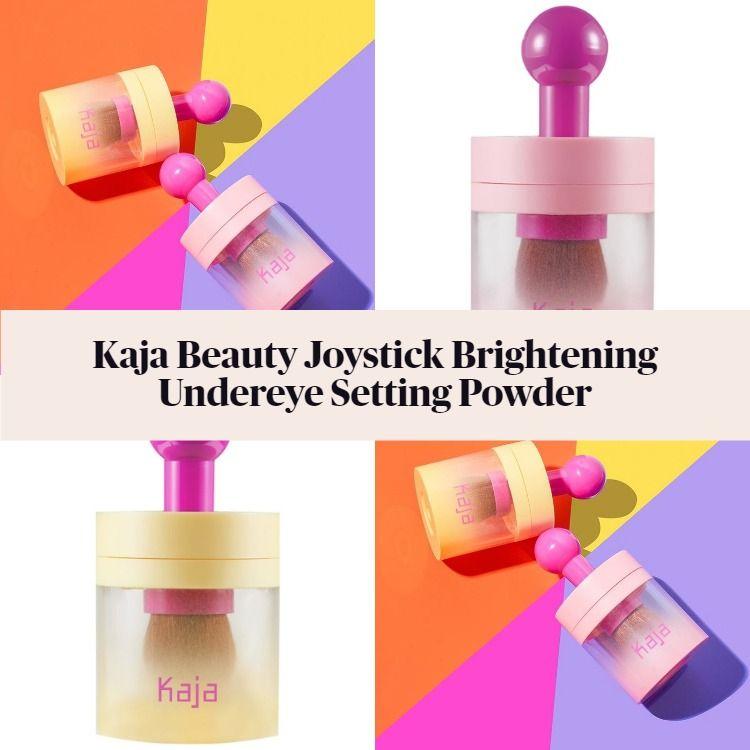 New! Kaja Beauty Joystick Brightening Undereye Setting Powder