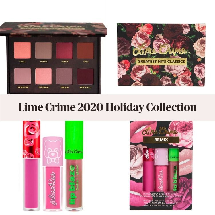 Sneak Peek! Lime Crime 2020 Holiday Collection