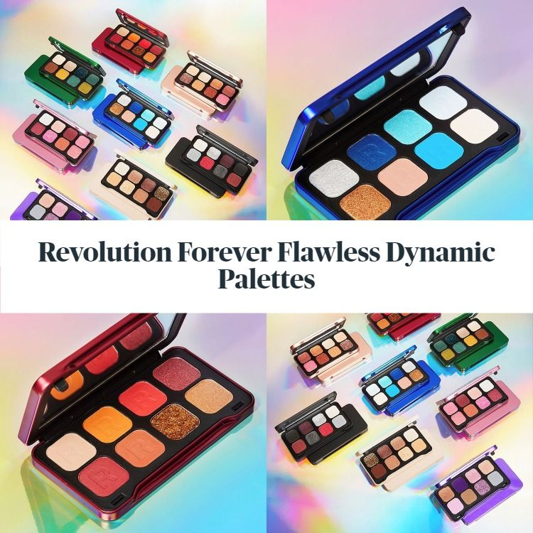 New From Makeup Revolution! Meet The Revolution Forever Flawless Dynamic Palettes