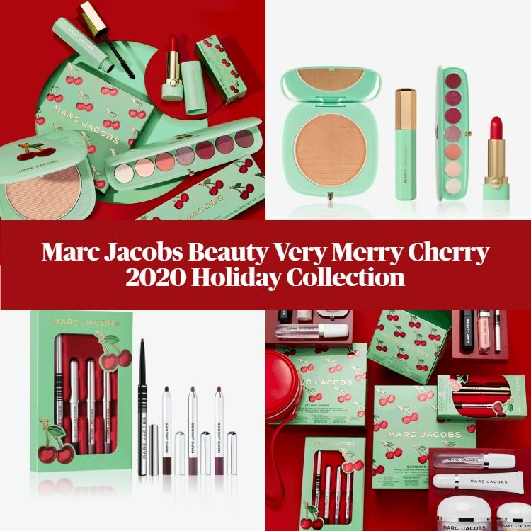 Marc Jacobs Beauty Very Merry Cherry 2020 Holiday Collection