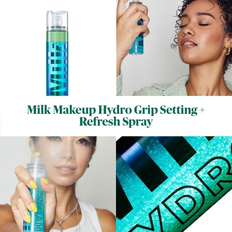 New! Milk Makeup Hydro Grip Setting + Refresh Spray