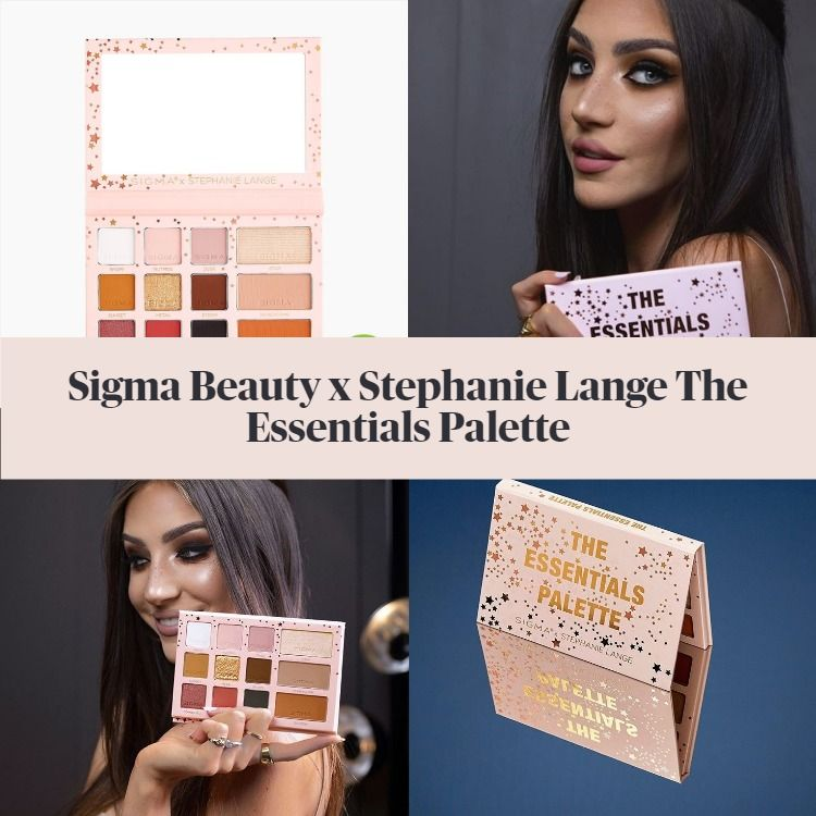 Get The Scoop On The New Sigma Beauty x Stephanie Lange The Essentials Palette