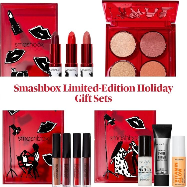 New! Smashbox 2020 Limited Edition Holiday Gift Sets Featuring Custom Art