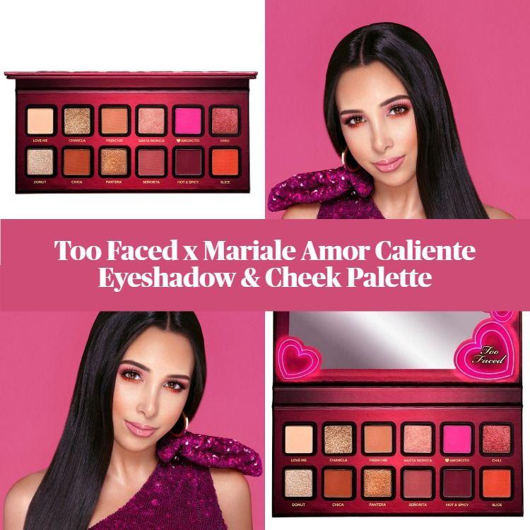 Sneak Peek! Too Faced x Mariale Amor Caliente Eyeshadow & Cheek Palette