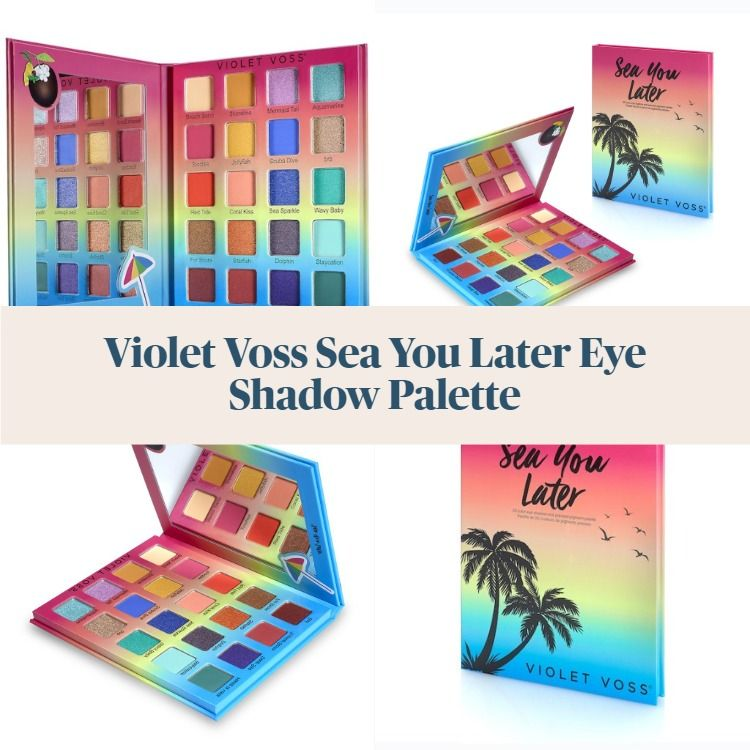 Violet Voss Sea You Later Eye Shadow Palette