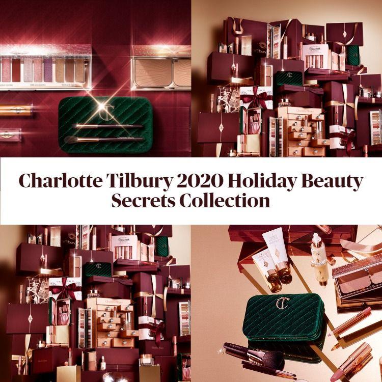 Charlotte Tilbury 2020 Holiday Beauty Secrets Collection! Plus Beauty Secrets Gift Shop