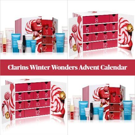Clarins Winter Wonders Advent Calendar