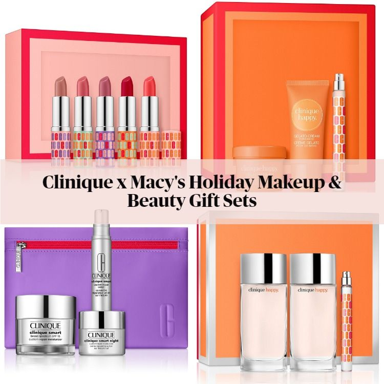 Clinique x Macy's Holiday Makeup & Beauty Gift Sets