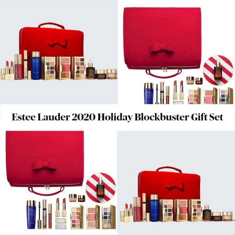 Estee Lauder 2021 Christmas Gift Set Estee Lauder 2020 Holiday Blockbuster Gift Set Beautyvelle Makeup News
