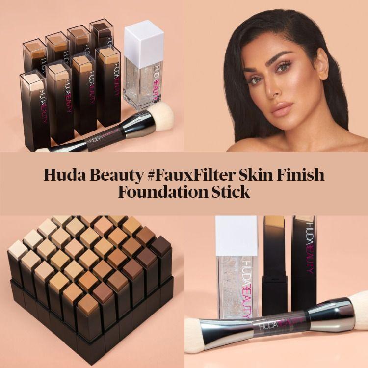 Sneak Peek! Huda Beauty #FauxFilter Skin Finish Foundation Stick