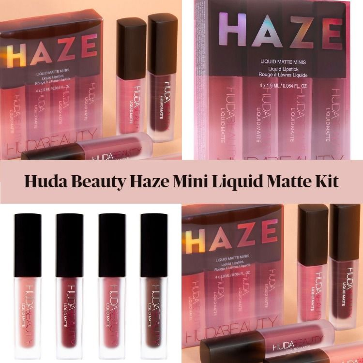 Huda Beauty Haze Mini Liquid Matte Kit