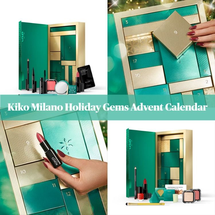 Kiko Milano Holiday Gems Advent Calendar   BeautyVelle | Makeup News