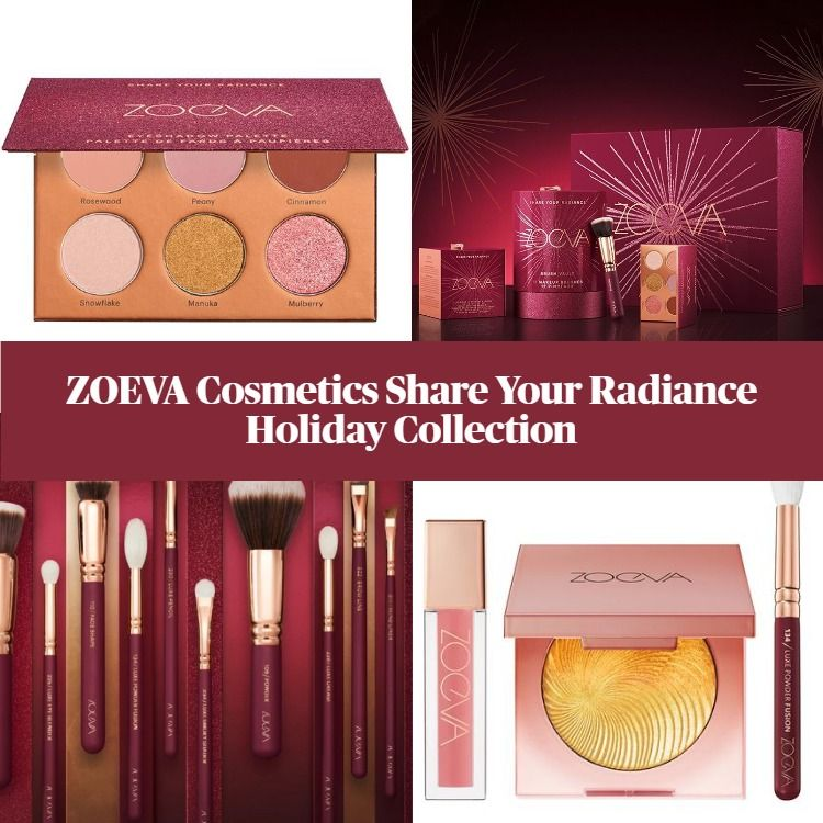 Zoeva Share Your Radiance 2020 Holiday Collection