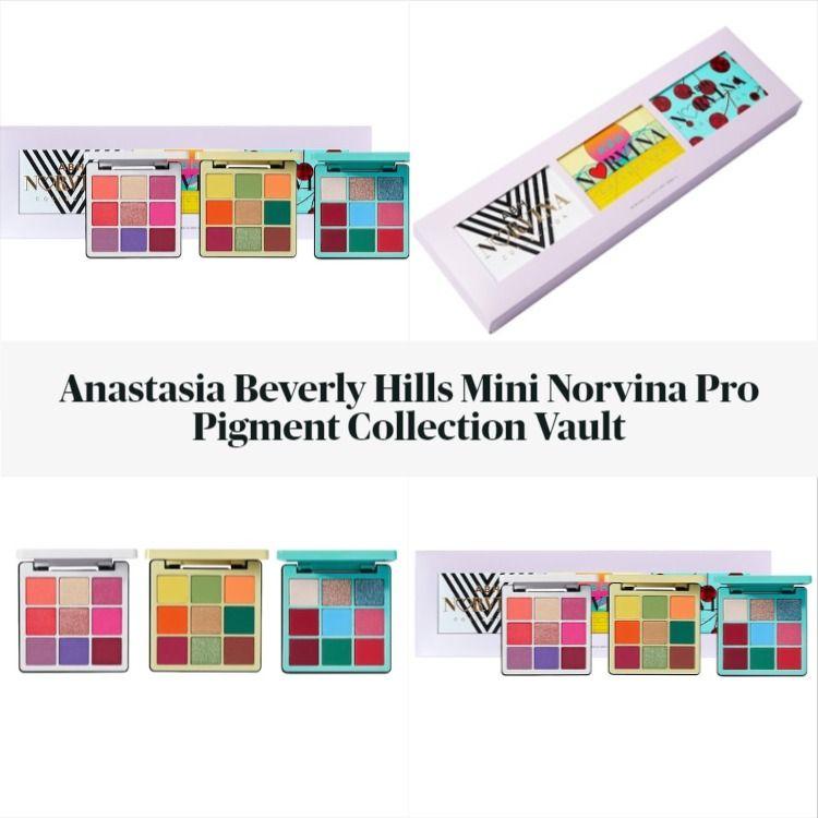Anastasia Beverly Hills Mini Norvina Pro Pigment Collection Vault
