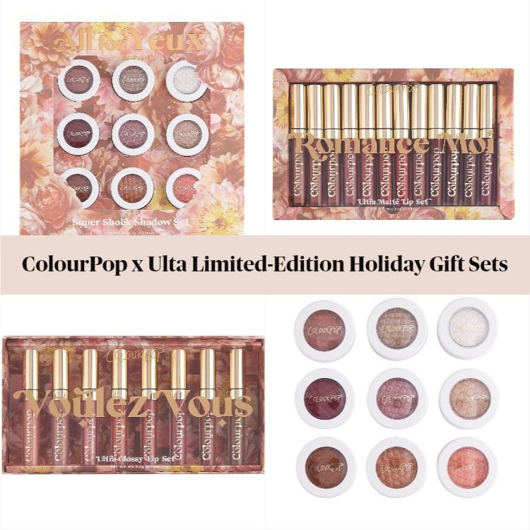 ColourPop x Ulta Limited-Edition Holiday Gift Sets