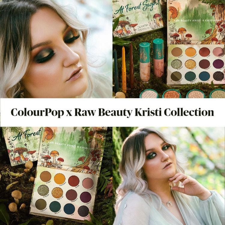 Sneak Peek! ColourPop x Raw Beauty Kristi Collection