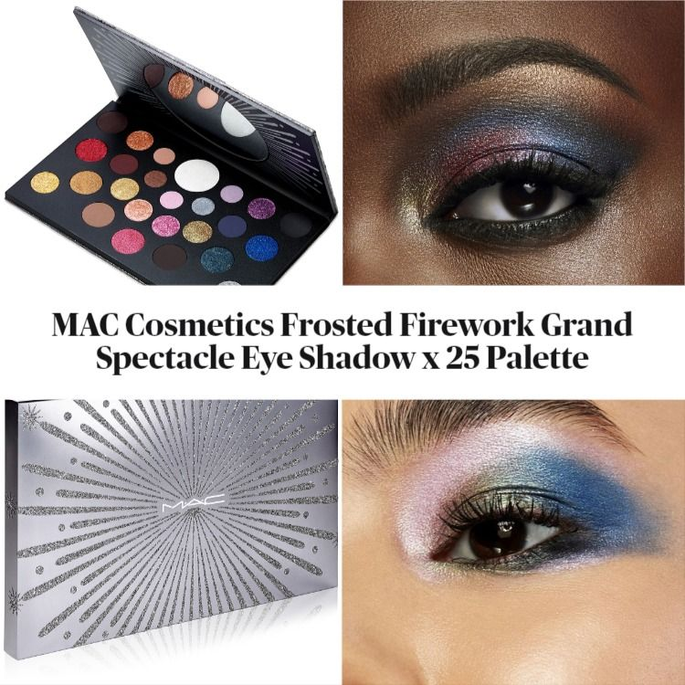 MAC Cosmetics Frosted Firework Collection Grand Spectacle Eye Shadow x 25 Palette