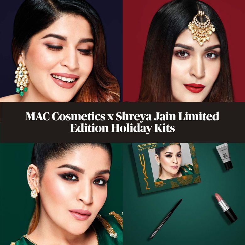 MAC Cosmetics x Shreya Jain Limited Edition Holiday Kits