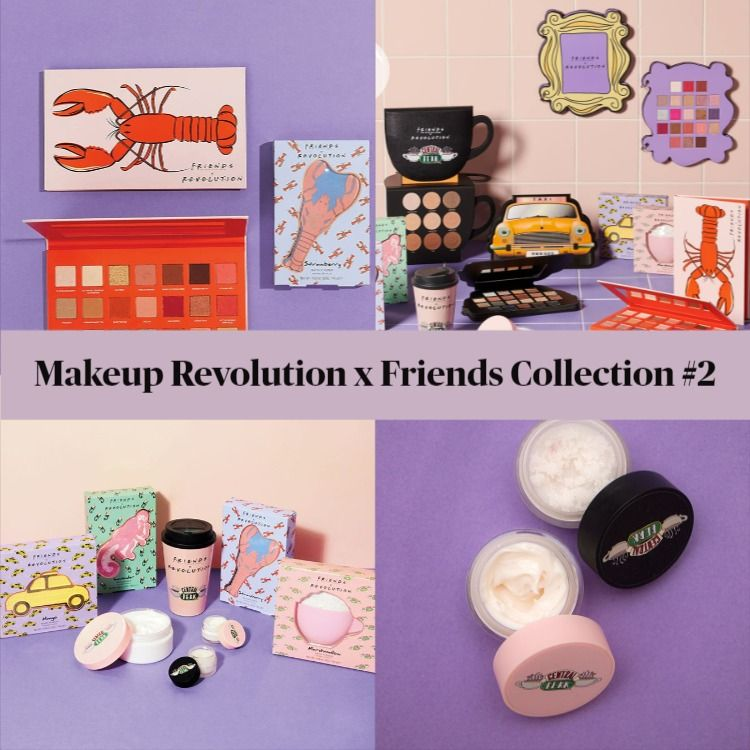 Makeup Revolution x Friends Collection #2