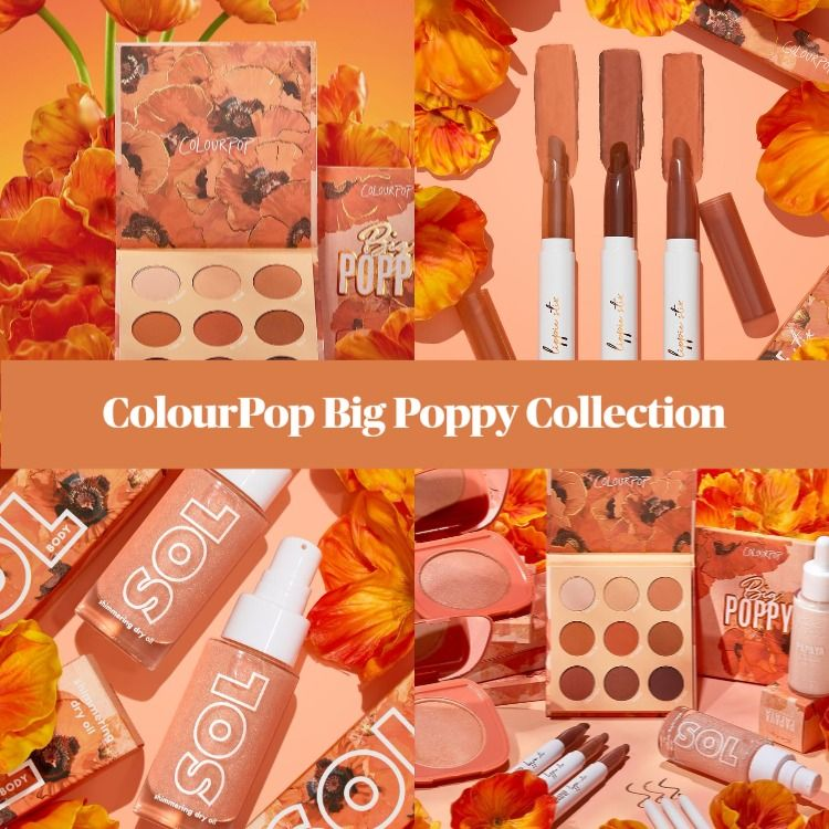 ColourPop Big Poppy Collection