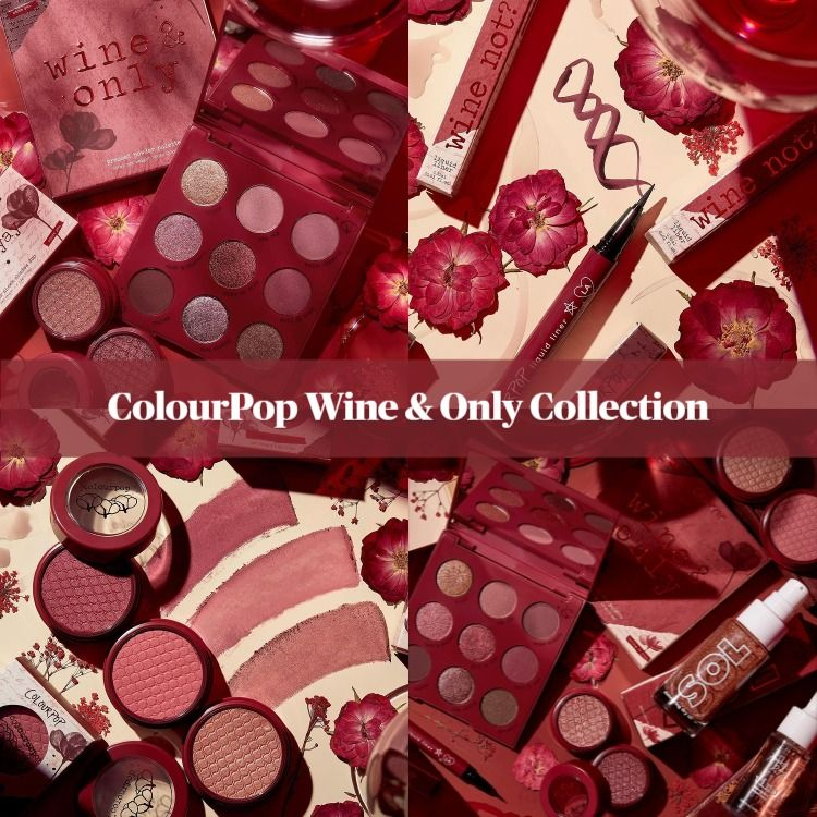 Sneak Peek! ColourPop Wine & Only Collection