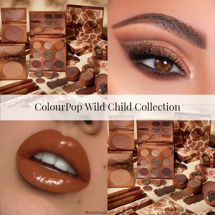 ColourPop Wild Child Collection