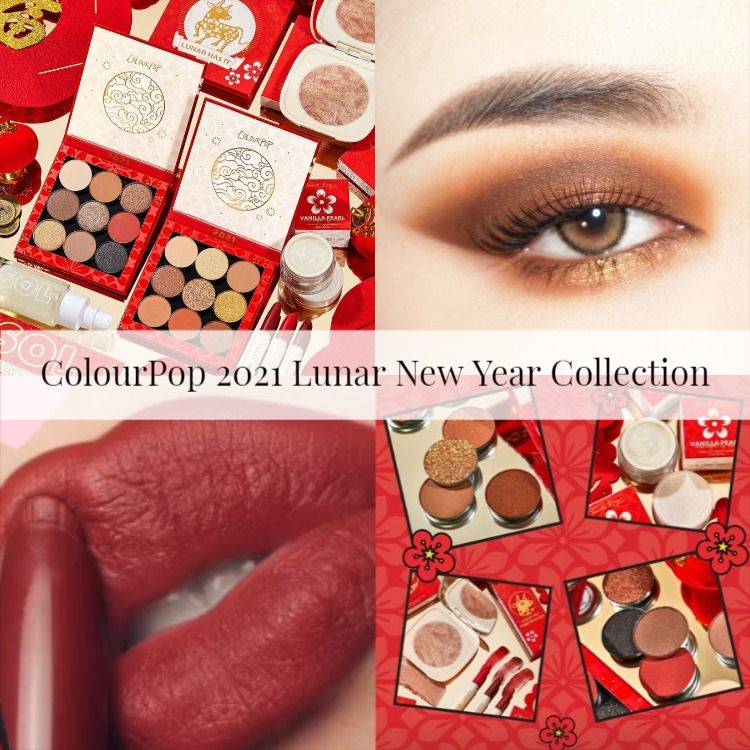 Sneak Peek! ColourPop 2021 Lunar New Year Collection