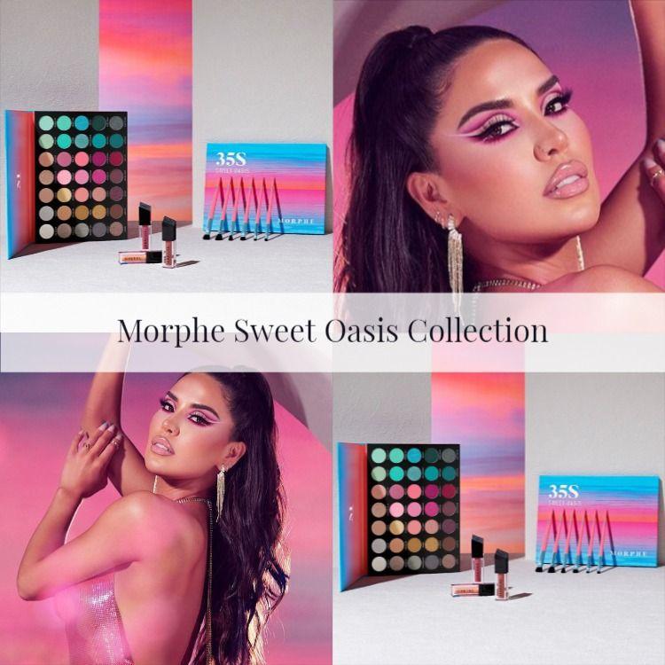 Sneak Peek! Morphe x iluvsarahii Sweet Oasis Collection