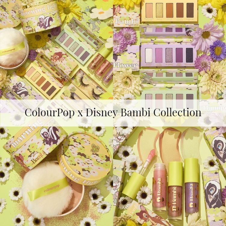 Sneak Peek! ColourPop x Disney Bambi Collection