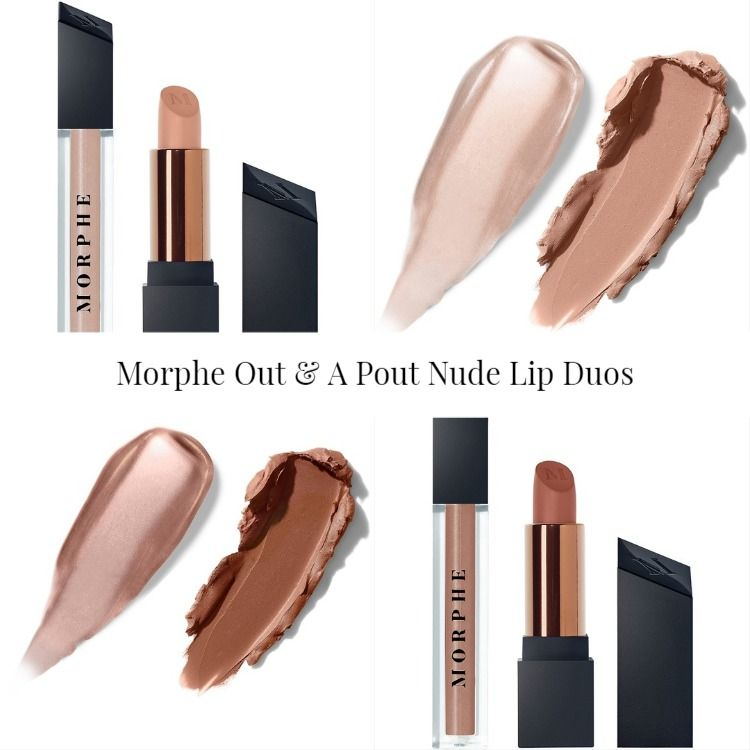 Morphe Out & A Pout Nude Lip Duos