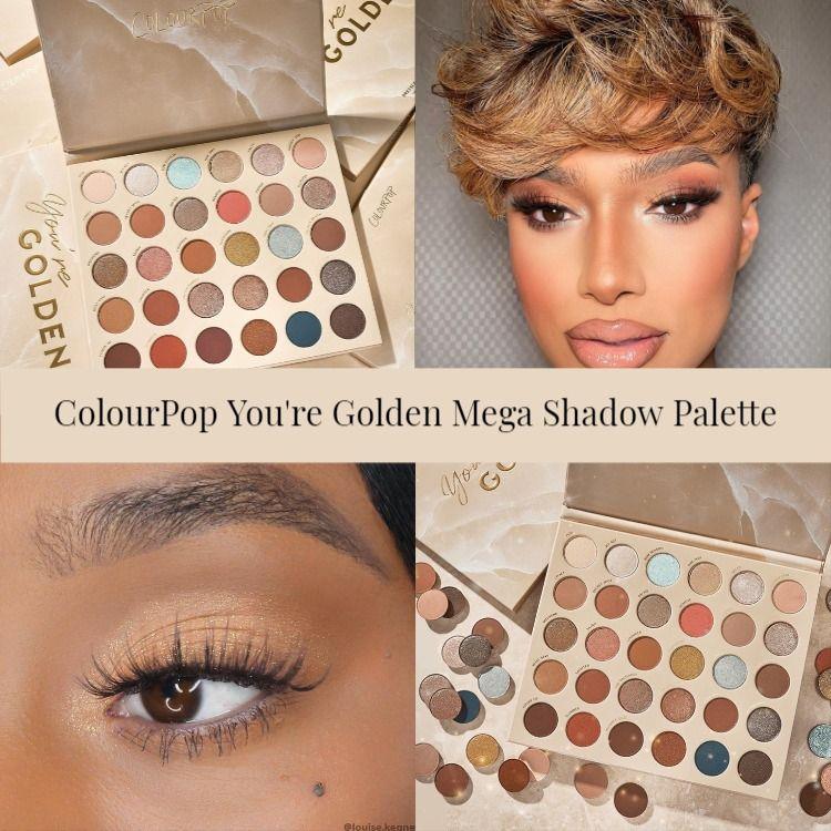 ColourPop You're Golden Mega Shadow Palette