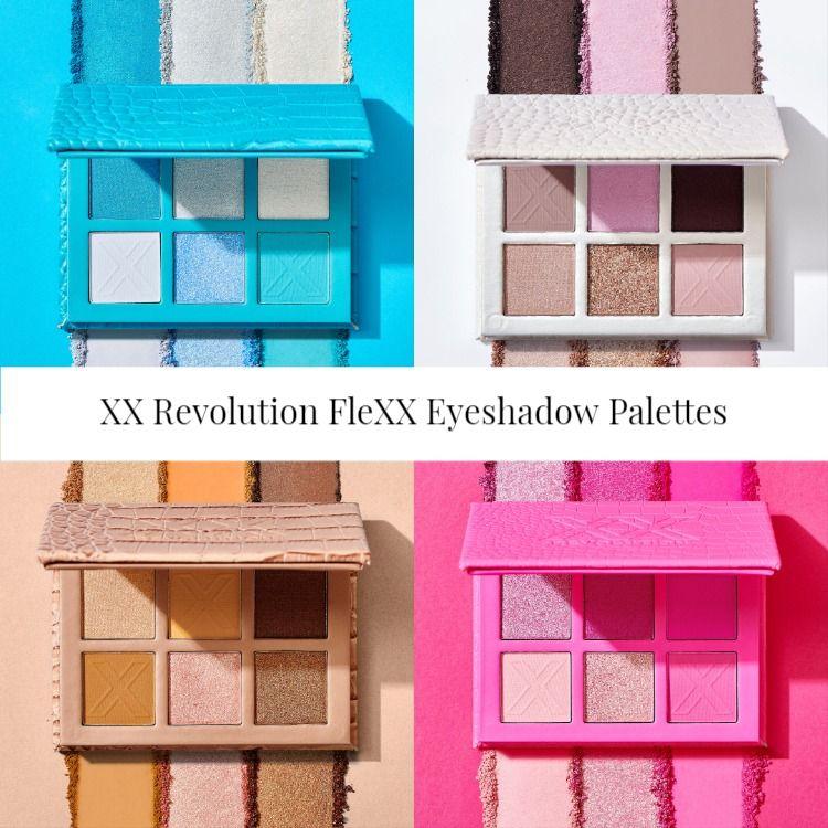 XX Revolution FleXX Eyeshadow Palettes