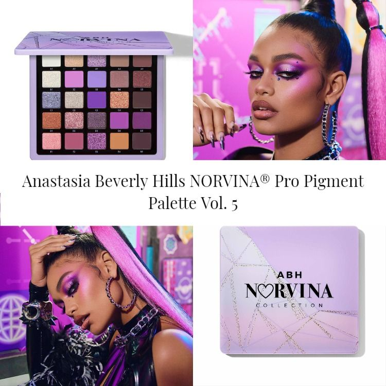 Sneak Peek! Anastasia Beverly Hills NORVINA® Pro Pigment Palette Vol. 5