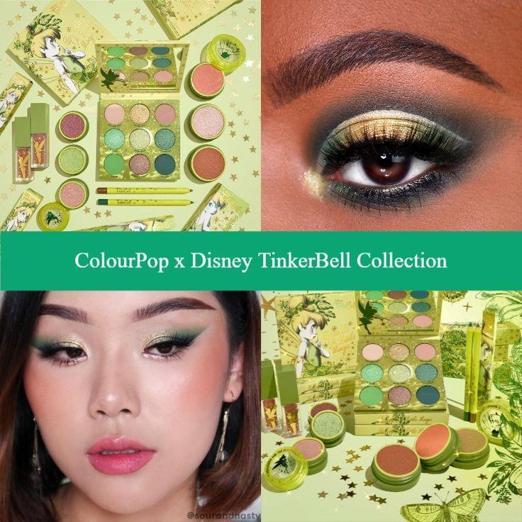 ColourPop x Disney TinkerBell Collection