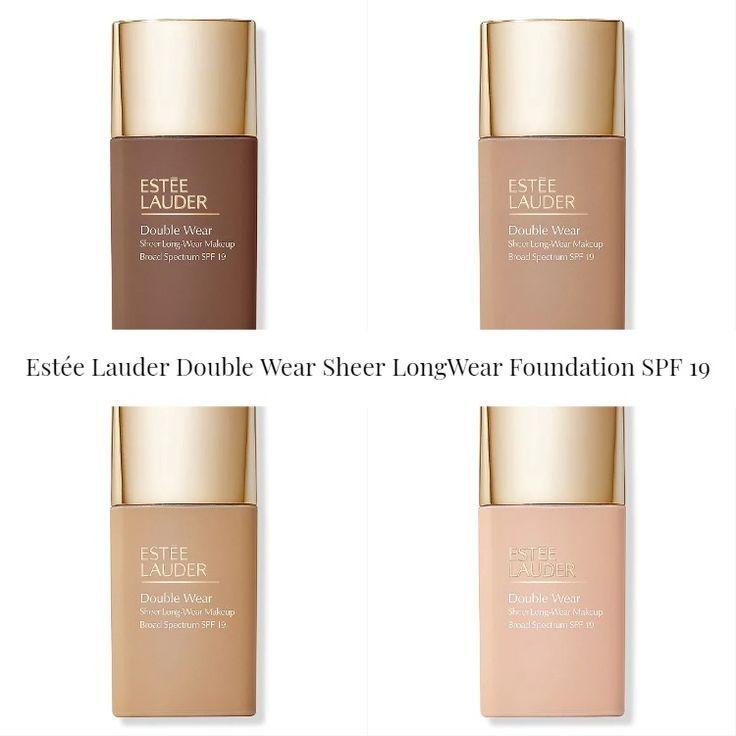 Estée Lauder Double Wear Sheer Long-Wear Foundation SPF 19