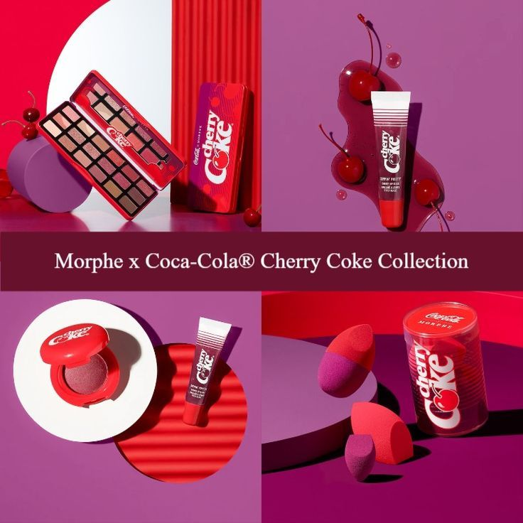 Morphe x Coca-Cola® Cherry Coke Collection