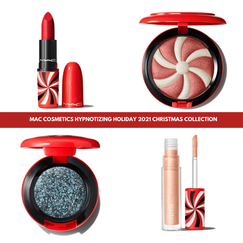 Sneak Peek! MAC Cosmetics Hypnotizing Holiday 2021 Christmas Collection