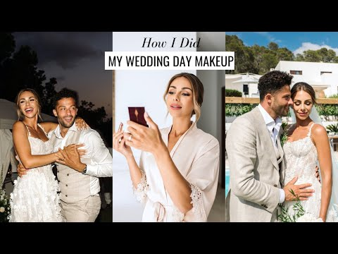 How I Did My WEDDING DAY MAKEUP | Long-established, New & Romantic | Annie Jaffrey