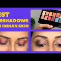 The TOP 5 Eyeshadow Colours for Dusky Skin | Ticket Make-up for Darkish Skin |  Be Beautiful