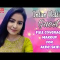 Marriage ceremony Customer Makeup Tutorial on Acne-Pores and skin #shorts