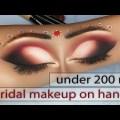 easy steps sight makeup accessible   bridal sight makeup   deepi beauty