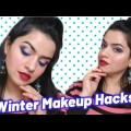 WINTER MAKEUP TIPS AND TRICKS FOR DRY SKIN, OILY SKIN, NORMAL SKIN I WINTER MAKEUP HACKS I